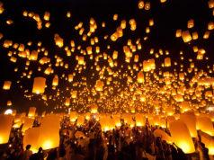Lễ hội thả đèn trời